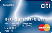 Apply online forCiti Simplicity® Card