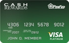 Apply now for PenFed Platinum Cash Rewards Visa® Card