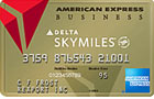 Gold Delta SkyMiles<sup>&reg;</sup> Business Credit Card from American Express