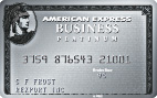 The Business Platinum Card<sup>&reg;</sup> from American Express OPEN