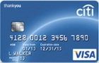Apply online forCiti ThankYou® Card