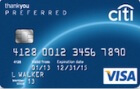 Citi ThankYou® Preferred Card - $150 in gift cards