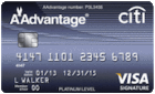 Apply online forCiti® Platinum Select® / AAdvantage® Visa Signature® Card