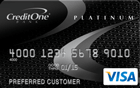 Apply online forVISA® Platinum from Credit One Bank® - Poor Credit