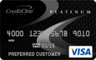 Credit One Bank<sup>&reg;</sup> Credit Card with Gas Rewards - Poor Credit