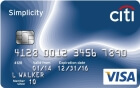 Apply online for Citi Simplicity Visa Card