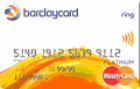 Barclaycard<sup>&reg;</sup> Ring MasterCard<sup>&reg;</sup> - 1% Back on Balance Transfers