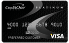 Credit One Bank<sup>&reg;</sup> Platinum Visa<sup>&reg;</sup> with 1% Cash Back