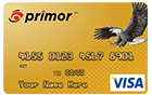 primor<sup>&trade;</sup> Secured Visa Gold Card