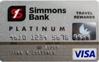 Simmons Bank Visa<sup>&reg;</sup> Platinum Rewards
