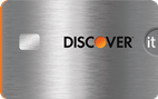 Discover it® Chrome- Double Cash Back your first year