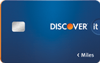 Apply online forDiscover it® Miles-Double Miles your first year