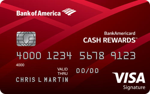 Apply online for BankAmericard Cash Rewards<sup>™</sup> Credit Card