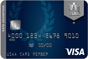 Apply online forUSAA Rate Advantage Platinum Visa®