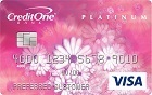 Apply online forCredit One® Platinum Visa® for Building Credit