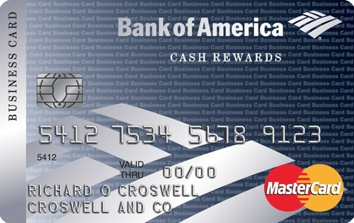 Apply online for Bank of America® Cash Rewards for Business MasterCard® Credit Card
