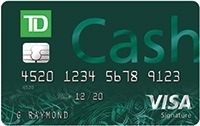 Apply Online for TD Cash Visa® Credit Card