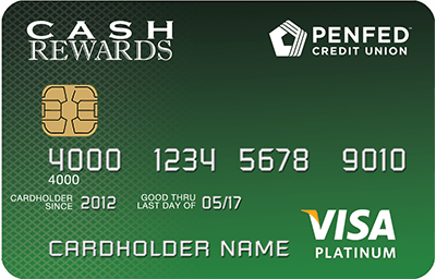 Learn more for PenFed Platinum Cash Rewards Visa® Card