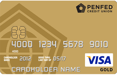 PenFed Gold Visa® Card