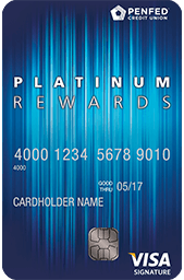 Learn more for PenFed Platinum Rewards Visa Signature® Card
