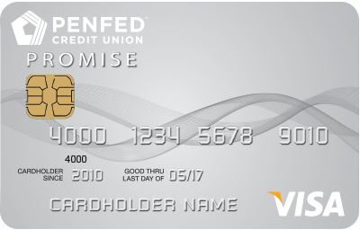 Apply online for PenFed Promise Visa<sup>®</sup> Card
