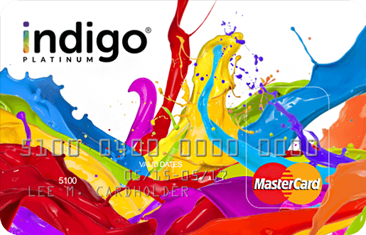 Apply Online for Indigo® Unsecured MasterCard®