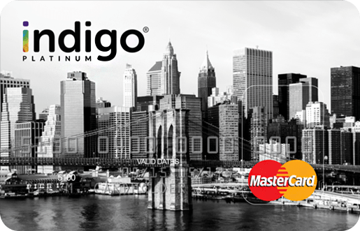 Apply Online for Indigo® Platinum MasterCard®