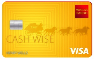 Learn more for Wells Fargo Cash Wise Visa® Credit Card
