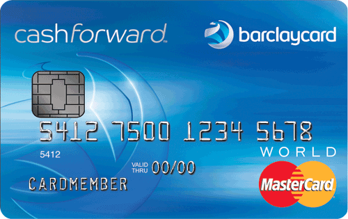 Apply Online for Barclaycard CashForward™ World MasterCard®