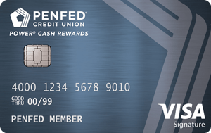 Apply online forPenFed Power Cash Rewards Visa Signature® Card