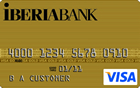 Iberiabank Visa<sup>&reg;</sup> Gold