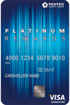 Apply online forPenFed Platinum Rewards Visa Signature® Card