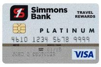 Apply online forSimmons Bank Visa® Platinum Rewards