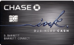 Learn more for Ink Cash® Business Credit Card