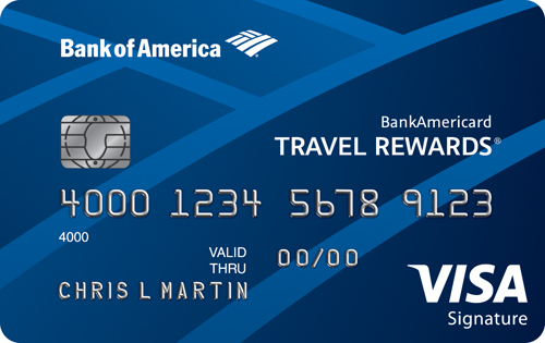 Learn more for BankAmericard Travel Rewards® Credit Card