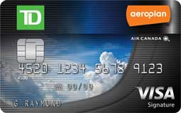 Learn more for TD Aeroplan™ Visa® Credit Card