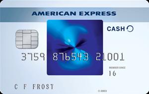 Photo of Amex cash card