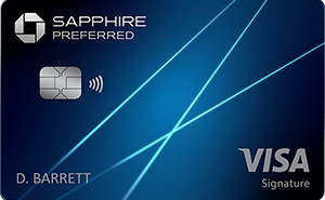 the chase sapphire preferred credit card