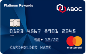 Apply online for ABOC Platinum Rewards Mastercard® Credit Card