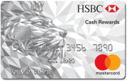 Apply online for HSBC Cash Rewards Mastercard® credit card