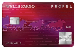 Apply online for Wells Fargo Propel American Express® card