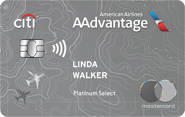 Citi<sup>®</sup> / AAdvantage<sup>®</sup> Platinum Select<sup>®</sup> World Elite<sup>™</sup> Mastercard<sup>®</sup>