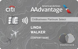 Apply online for CitiBusiness<sup>®</sup> / AAdvantage<sup>®</sup> Platinum Select<sup>®</sup> Mastercard<sup>®</sup>