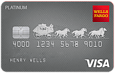 Apply online for Wells Fargo Platinum card