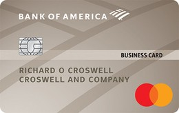 Apply online for Bank of America® Platinum Plus® Mastercard® Business card