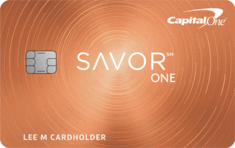 Capital One® SavorOne® Cash Rewards Credit Card