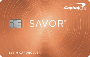 Capital One Savor Cash Rewards Credit Card