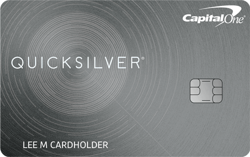 Apply online for Capital One Quicksilver Cash Rewards Credit Card