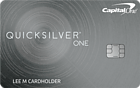 Apply online for Capital One QuicksilverOne Cash Rewards Credit Card