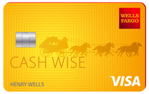 Apply online for Wells Fargo Cash Wise Visa® card